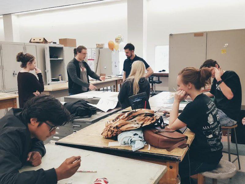 EVERYONE WORKING IN STUDIO