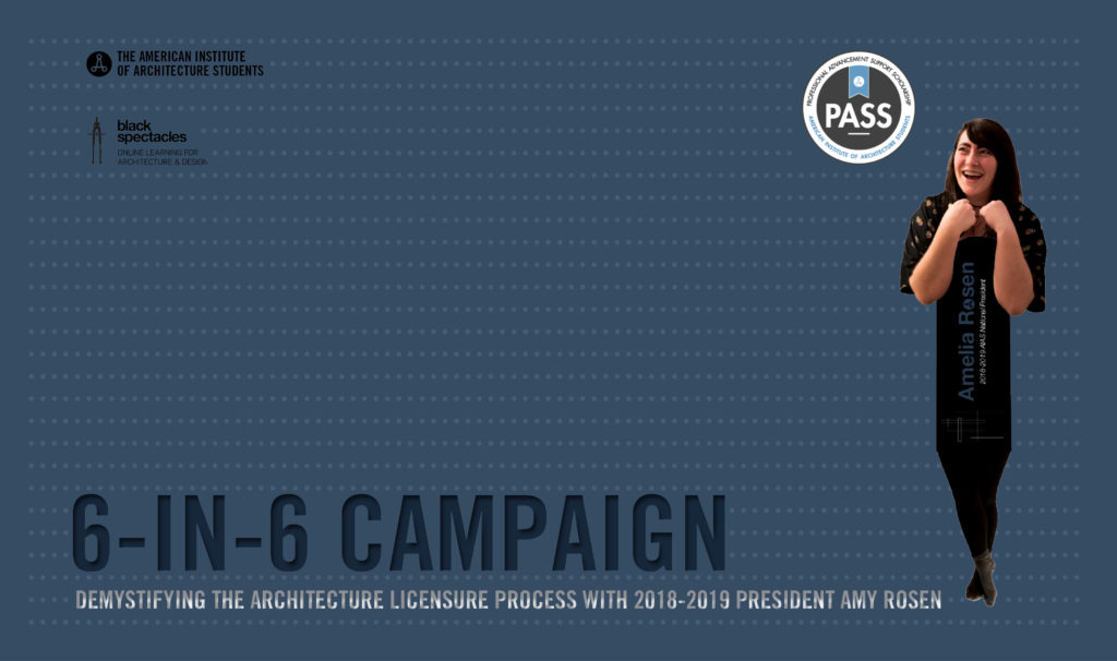 The 6-in-6 Campaign: Demystifying the Architecture Licensure